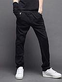 billige Herrebukser-Herre Chic & Moderne Bukser Bukser Ensfarvet