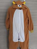preiswerte Zeremonie Dekoration-Erwachsene Kigurumi-Pyjamas Bär Pyjamas-Einteiler Polar-Fleece Cosplay Für Herren und Damen Tiernachtwäsche Karikatur Fest / Feiertage Kostüme