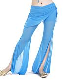 hesapli Göbek Dansı Giysileri-Göbek Dansı Alt Giyimler Kadın's Eğitim Polyester Pantalonlar