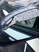 abordables Ropa de Cama de Mujer-2X Espejo retrovisor de coche de agua de lluvia Cejas Cubierta del Protector Lateral