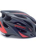 povoljno Košulje-MOON Odrasli Bike kaciga 21 Ventilacijski otvori Otporan na udarce, Prilagodljivo, Izmjenjivi vidik EPS, PC Sportski biciklom na cesti / Rekreativna vožnja biciklom / Biciklizam / Bicikl - Crn / Crno