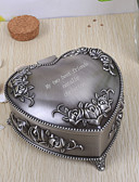 cheap Wedding Gifts-Gifts Bridesmaid Gift Personalized Vintage Heart Shaped Tutania Jewelry Box