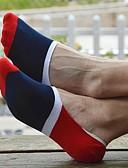 cheap Men's Underwear & Socks-Men's Sexy Socks - Color Block