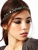cheap Fashion Headpieces-Women's Party Alloy Head Chain - Solid Colored