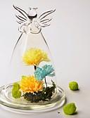 abordables Botellas de Regalo-Material Vidrio Tabla Centro de Piezas - Sin personalizar Otros Mesas Cubierta de Cristal Flor Primavera Verano Todas las Temporadas