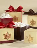 رخيصةأون هدايا المساند للحضور-مكعب أوراق البطاقة صالح حامل مع شرائط صناديق هدايا - 12