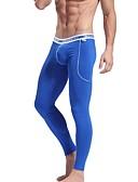preiswerte Herren Unterwäsche & Socken-Herrn Elasthan Bambous Carbon Faser Super Sexy Lange Unterhosen Solide