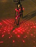 cheap Women's Leather Jackets-Bar End Light / Rear Bike Light / Safety Light Laser / LED Cycling Alarm, LED Light, Multi-tool Battery Cycling / Bike