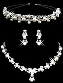 cheap Wedding Dresses-Women's Others Jewelry Set Earrings / Necklace / Tiaras - Regular For Wedding / Party / Special Occasion