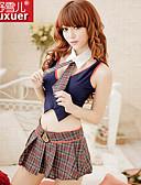 preiswerte Büstenhalter-Damen Baumwolle Besonders sexy / Uniformen & Cheongsams Nachtwäsche - Schleife Verziert