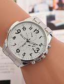 baratos Quartz-yoonheel Mulheres Relógio de Pulso Relógio Casual Metal Banda Amuleto / Fashion Prata / Um ano / SODA AG4