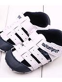 お買い得  スポーツウォッチ-男の子 / 女の子 靴 繊維 / PUレザー 春夏 赤ちゃん用靴 フラット 面ファスナー のために ネービー / レッド