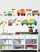 baratos Abrigos e Moletons Masculinos-Formas Desenho Animado Transporte Adesivos de Parede Autocolantes de Aviões para Parede Autocolantes de Parede Decorativos, PVC Decoração