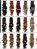 economico Corsetti e bustini-Code Pezzo di capelli Riccio Classico Capelli sintetici 24 pollici Estensione capelli Quotidiano