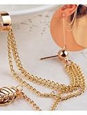 baratos Chapéus Femininos-Mulheres Punhos da orelha - Prata / Dourado Para Casamento Festa Diário