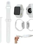 hesapli Smartwatch Bantları-Watch Band için Apple Watch Serisi 5/4/3/2/1 Apple Spor Bantları Silikon Bilek Askısı