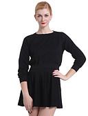 ieftine Bluze Damă-Pentru femei Șic & Modern Mată Culoare solidă, Stil modern Clasic Culoare pură