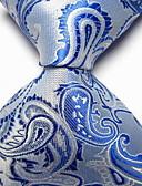 olcso Férfi nyakkendők és csokornyakkendők-Férfi Paisley Nyomtatott Party / Munkahelyi / Alap - Nyakkendő