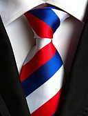 cheap Men's Ties & Bow Ties-Women's Party Work Basic Polyester Necktie - Striped