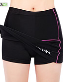 cheap Cycling Pants, Shorts, Tights-WOSAWE Women's Cycling Skirt Bike Skirt / Padded Shorts / Chamois / Bottoms 3D Pad, Anatomic Design, Breathable Solid Colored Elastane,