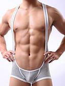 baratos Moda Íntima Exótica para Homens-Homens Ultra Sexy Sólido Cintura Baixa
