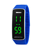 cheap Quartz Watches-Sport Watch Digital Calendar / date / day Cool Silicone Band Digital Fashion Black / Blue / Red - Red Blue Pink Two Years Battery Life / Maxell2025