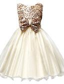 preiswerte Kleider für Mädchen-Baby Mädchen Zum Kleid Jacquard Ärmellos / Die Ärmellänge für Größe S beträgt 61cm (Die Ärmellänge verlängert sich um 21cm mit jeder ansteigenden Größe) Kleid