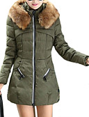 ieftine Lenjerie la Modă-Pentru femei Mată Mărime Plus Size Lung Căptușit, Altele Manșon Lung Primăvară / Toamnă / Iarnă Negru / Rosu / Verde XL / XXL / XXXL