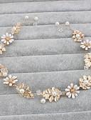 preiswerte Hochzeitskleider-Künstliche Perle Stirnbänder / Kopfbedeckung mit Blumig 1pc Hochzeit / Besondere Anlässe / Normal Kopfschmuck
