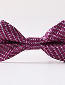 olcso Férfi nyakkendők és csokornyakkendők-Férfi Kreatív Stílusos Party/Estélyi Előírásos stílus Luxus Rácsos Iroda/Üzlet - Csokornyakkendő