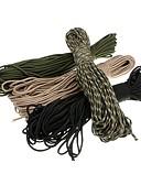 preiswerte Tanzzubehör-Seil / Paracord / Geflochten Notfall, Militär, Multi-Funktions- für Camping / Draußen - Nylon 1 pcs