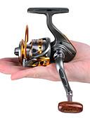 זול טישרט-סלילי טווייה 5.2:1 יחס ציוד+12 מיסבים כדוריים אוריינטציה יד ניתן להחלפה הטלת פיתיון דיג קרח Spinning דייג במים מתוקים אחר דיג כללי דיג