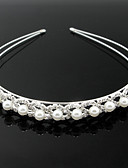 cheap Wedding Dresses-Imitation Pearl Alloy Headbands 1 Wedding Special Occasion Headpiece