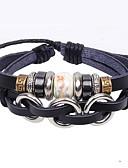 cheap Quartz Watches-Leather Bracelet - Leather Unique Design, Vintage, Party Bracelet Black For Party / Gift / Valentine