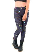 זול מכנסיים וחצאיות-צועד - צבעים מרובים הדפסה תגובתית הדפס גבוה בגדי ריקוד נשים