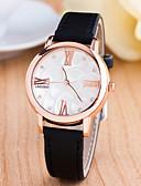 preiswerte Armband-Uhren-Damen Armbanduhr Schlussverkauf Leder Band Charme / Modisch Schwarz / Weiß / Blau / Ein Jahr / Tianqiu 377