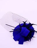 ieftine Accesorii Păr de Petrecerere-Flanelă Pană Net Palarioare 1 Nuntă Ocazie specială Casual În aer liber Diadema