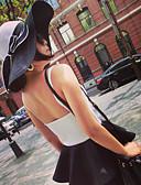 baratos Chapéus de Moda-Mulheres Fofo Festa Floppy Chapéu de sol - Estampado