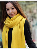 cheap Fashion Scarves-Women's Basic Rectangle - Solid Colored