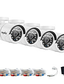 cheap Men's Blazers & Suits-SANNCE® 1080*720 AHD Indoor Outdoor CCTV Camera IR Cut Kits Weatherproof Home Security System Kits