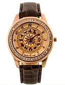 baratos Relógios da Moda-Homens Relógio de Pulso Relógio Casual Couro Banda camuflagem / Fashion Preta / Branco / Azul / SSUO 377