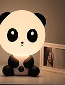 hesapli Göbek Dansı Giysileri-Bebek yatak odası lambaları gece lambası karikatür evcil tavşan panda pvc plastik uyku için led çocuk lamba ampul ...