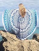 זול 2017ביקיני ובגדי ים-גיאומטרי, דפוס - מגבת חוף בוהו בגדי ריקוד נשים / כותנה