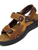 ieftine Rochii de Mireasă-Bărbați Pantofi Nappa Leather Primăvară Vară Confortabili Decupat pentru De Atletism Casual Birou și carieră În aer liber Rochie Maro