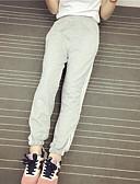 abordables Ropa de Calle de Mujer-Mujer Chic de Calle Pantalones Harén Pantalones de Deporte Chinos Pantalones - A Rayas