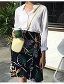 billige Mode Tilbehør-Dame Afslappet Over Knæet Nederdele I-byen-tøj A-linje Rayon Sommer