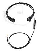 baratos Vestidos de Mulher-35-0 No ouvido / Banda de pescoço Com Fio Fones Plástico Celular Fone de ouvido Com Microfone Fone de ouvido