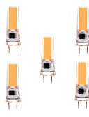 abordables Ropa de Calle de Mujer-YWXLIGHT® 5pcs 5W 350-450 lm G8 Luces LED de Doble Pin T 1 leds COB Regulable Decorativa Blanco Cálido Blanco Fresco AC 110-130V AC