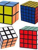 ieftine Salopete Damă-cubul lui Rubik 4 piese Shengshou 2*2*2 3*3*3 4*4*4 Cub Viteză lină Cuburi Magice puzzle cub nivel profesional Viteză Clasic & Fără Vârstă Pentru copii Adulți Jucarii Băieți Fete Cadou