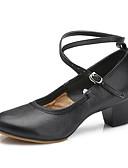hesapli Göbek Dansı Giysileri-Kalın Topuk-Deri-Dans Sneakerları / Modern-Kadın-Kişiselleştirilmiş